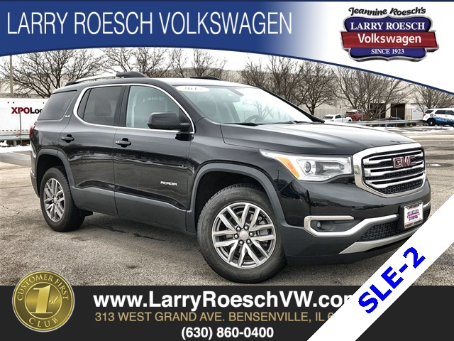 Pre-Owned 2017 GMC Acadia SLE-2