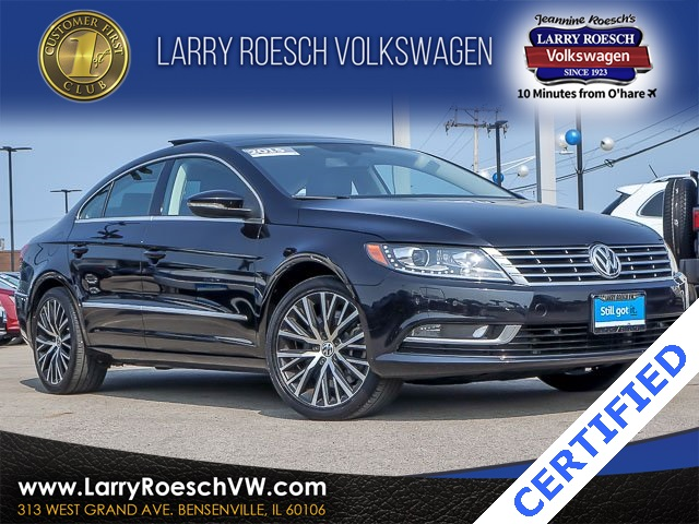 Certified Pre-Owned 2015 Volkswagen CC 3.6L V6 Executive